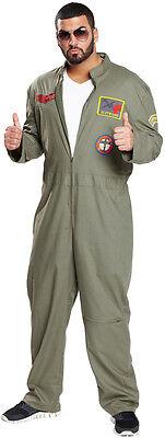 Kampfpilot Kostüm für Herren NEU - Herren Karneval Fasching Verkleidung Kostüm