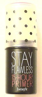 Authentic! Benefit Stay Flawless 15 Hour Primer Stick .04 Travel Size Brand New!