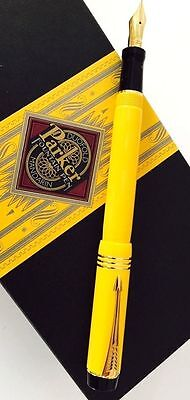 PARKER MANDARIN YELLOW LIMITED EDITION  FOUNTAIN PEN NEW IN BOX 4420/10000