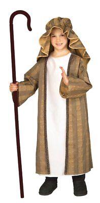Shepherd Boy Joseph Nativity Child Costume Christmas Biblical Medium](Joseph Costume Nativity)