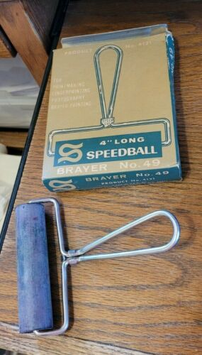 "Vintage Brayer #49 4"" Long Speedball -Product #4121"