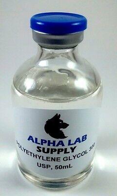 Polyethylene Glycol 300 Usp Grade 50ml - Free Shipping