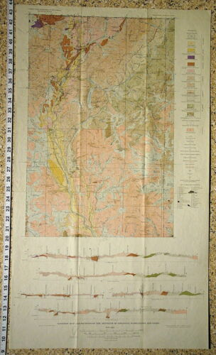 USGS METALINE MINING DISTRICT of WASHINGTON Geology and Ore Deposits HARD COVER!
