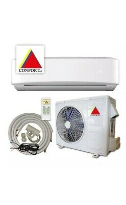 12,000 BTU Ductless Air Conditioner, Heat Pump Mini Split 220V 1 Ton With/KIT