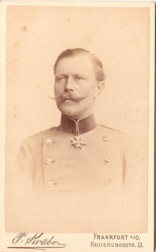 CDV+photo+Offizier+Corps+Dragoner+Regiment+Nr.+12+%2F+von+Rohr