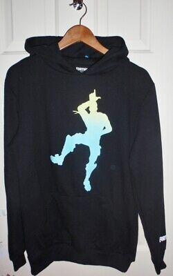 BNWT Primark Fortnite Epic Games boys black LOSER hoodie sweat top XL