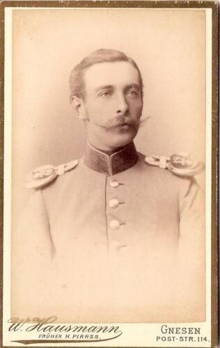 CDV+photo+Offizier+Corps+Dragoner+Regiment+Nr.+12+%2F+von+Krosigk