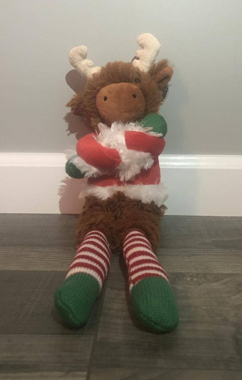 Manhattan Toy Target Holiday Twiggies Moose