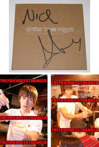 "ALEX TURNER & NICK signed ARCTIC MONKEYS ""LEAVE BEFORE THE .."" CD CASE Proof COA"