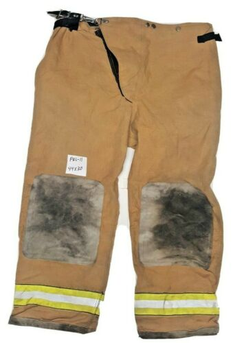 44x30 Globe Brown Firefighter Turn Out Pants with No Liner PNL-11