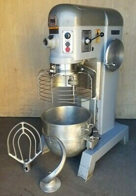 Clean Hobart P660 2-speed 60 Quart Pizza Dough Mixer With Bowl Guard 3ph 2.5 Hp