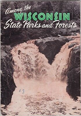 1940's Wisconsin State Parks Promotional Brochure