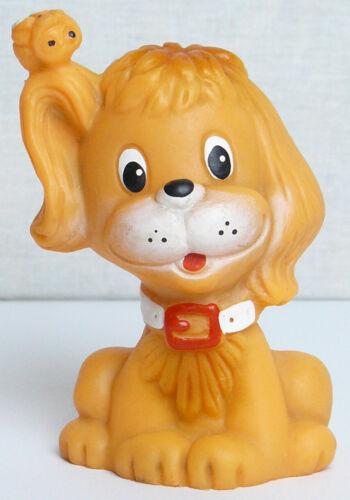 Vintage Original Soviet Russian Rubber Puppy Toy Doll  USSR