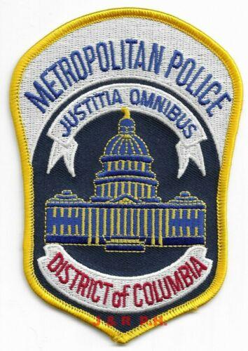 "Washington D.C. Metro Police (3.5"" x 5"" size) shoulder police patch (fire)"