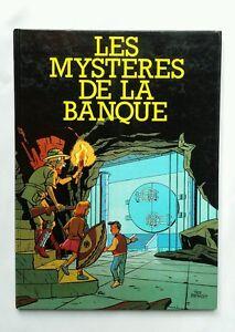 BD-Les-mysteres-de-la-banque-1988-TED-BENOIT-ART-MODERNE-20000-ex