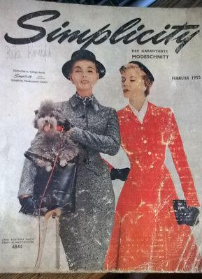 Simplicitty -Der garantierte Modeschnitt, 1955