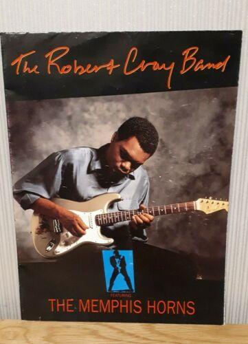 The Robert Cray Band  - Souvenir Tour Programme (1991)