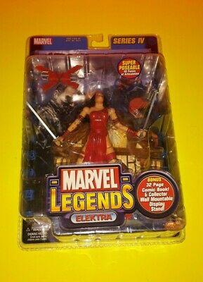 2003 Marvel Legends ELEKTRA Series 4 Toy Biz comic book Urban Legends Figure