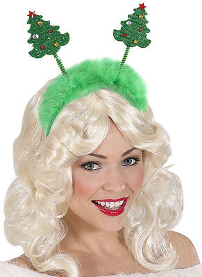 Weihnachtsbaum Wackelnde Weihnachtsbäume Haarreif Hut Dame Weihnachtsfeier ()
