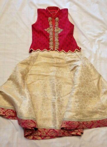 Girls Indian/Pakistani clothes, Lehenga/choli, Minnie Minors Size 3/4 and 9/10