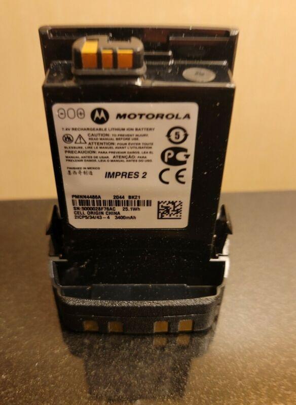 PMNN4486A - Motorola - IMPRES 2 Li-Ion IP68 Battery, 3400mAh for APX Port radio