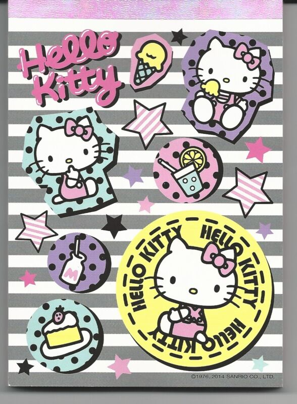Sanrio Hello Kitty Notepad Star KT