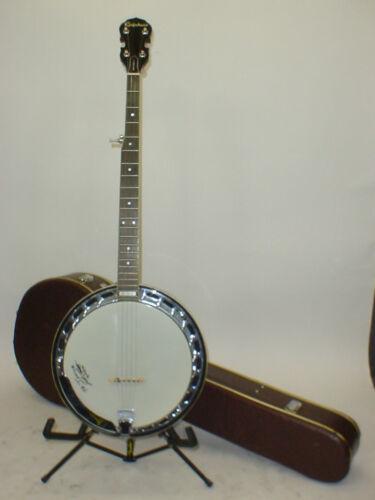 Vintage Epiphone Masterbuilt MB-100 5-String Banjo with Case
