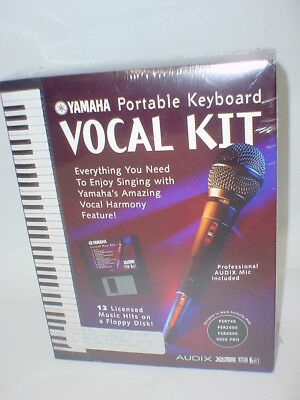 Yamaha Portable Keyboard Vocal Kit INCLUDES DISK & MICROPHONE Karaoke  for sale  Shipping to India