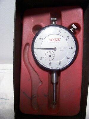 Vintage Manley Dial Indicator 0-1 Range .001 Resolution No.md 163