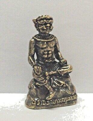 Estatuilla Figura Latón Amuleto Budismo Divinidad Asura Camboya Asia b190 comprar usado  Enviando para Brazil