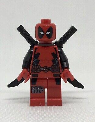 LEGO Deadpool GENUINE Minifigure 6866 Superhero X-Men Mini Figure