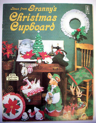 - Ideas from Granny's Christmas Cupboard patterns stocking mice ornaments wreaths