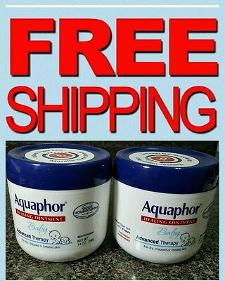 New!Aquaphor Baby Advanced Therapy Healing Ointment Skin Protectant 14 oz 2 -