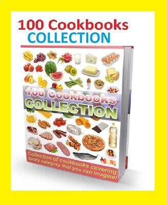 NEW 100 Cookbooks Collection eBooks PDF with Full Master Resell Rights best sell