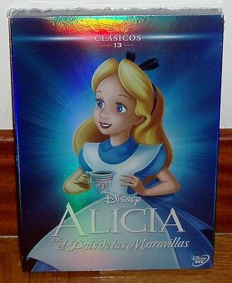 ALICIA EN EL PAIS DE LAS MARAVILLAS DVD CLASICO DISNEY Nº 13...