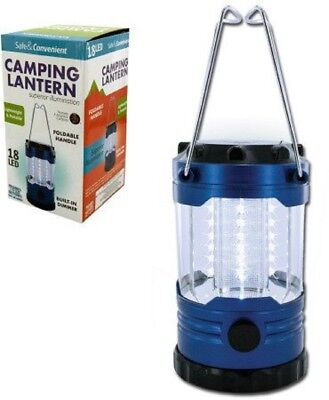 SUPER POWERED 18 LED LANTERN / Auto Emergency LIGHT With Dimmer Switch & Compass ()