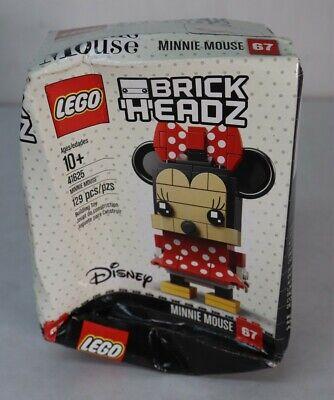 LEGO 41625 Brickheadz Disney Minnie Mouse 129pcs New Box Damage