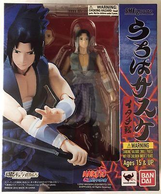 Sasuke Uchiha Itachi Battle Naruto Shippuden Bandai S.H. Figuarts Action Figure