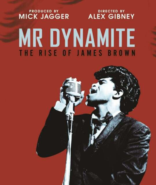 Mr Dynamite: The Rise Of James Brown [Blu-ray] [2015] DVD New Alex Gibney