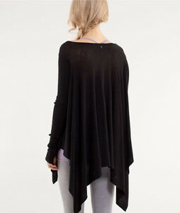 Lululemon Heathered Black  Enlightened knit Sweater!