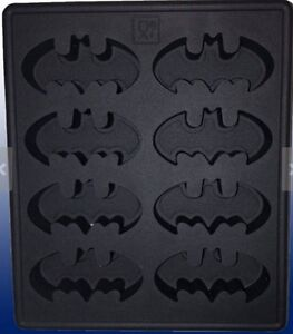 Batman Silicone Ice Cube Tray Mold, Chocolate, Soap, Resin, Crafts, Candy, Chalk