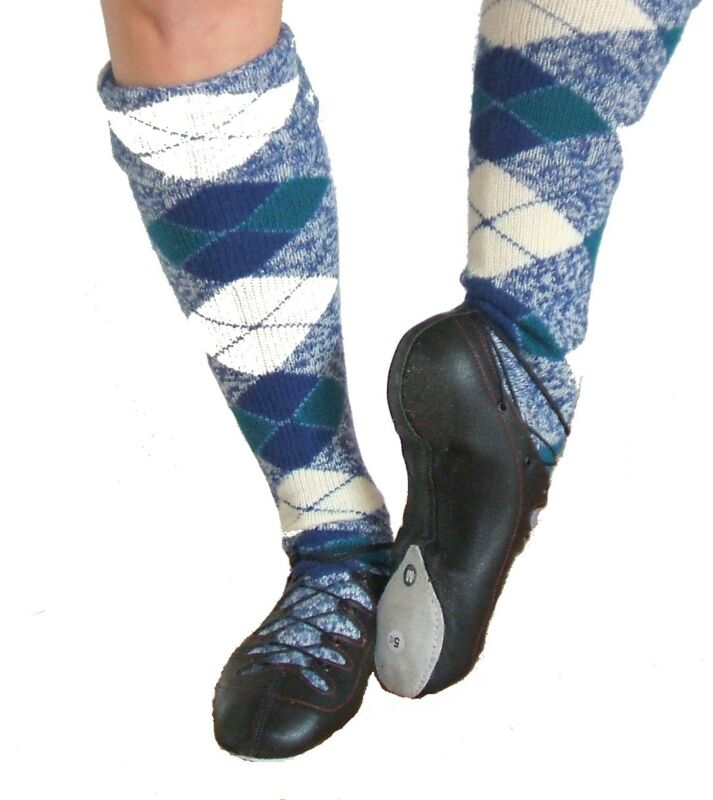 Hullachan Competition Scottish Highland Dance Ghillies Shoes