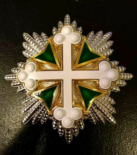 Italy Grand Cross Medal Order of St. Maurice and Lazarus 1st Class Badge Replica