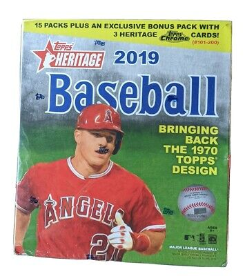 2019 Topps Heritage Mega Box - Factory Sealed Brand New