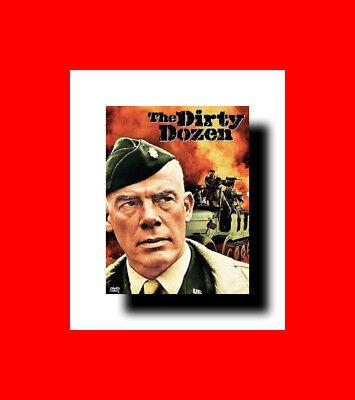 DVD-THE DIRTY DOZEN-WW2 WWII WORLD WAR WW 2 II POW OSS ADSEC MILITARY AIRBORNE D