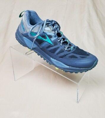 Women's Brooks Cascadia 10 Running Cross Training Ombre Blue Sterling Size 7