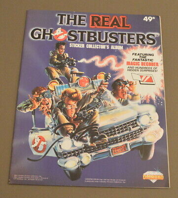 1986 Diamond The Real Ghostbusters empty album