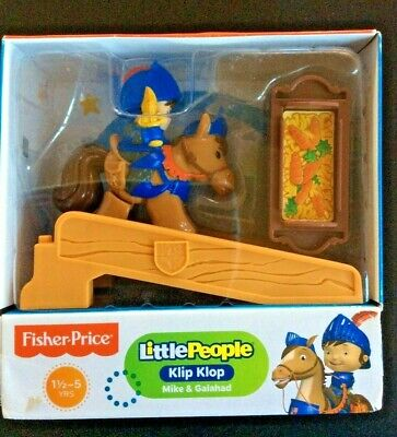 Little People Klip Klop Mike The Night Toy Fisher Price Toy