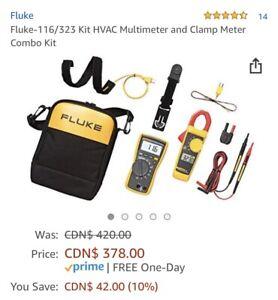 Fluke - 116/323 Kit HVAC Multimeter and Clamp Meter Combo Kit