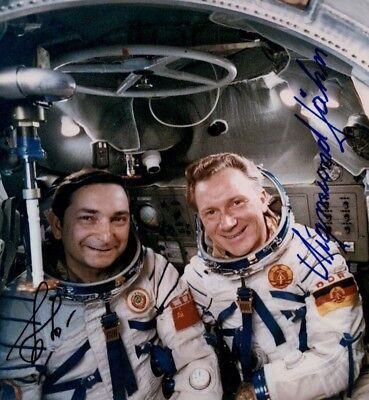 Waleri Bykowski & Sigmund Jähn Sojus 31 Saljut 6 original signiert signed 790 UH